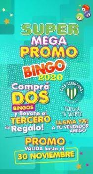Bingo Sanjustino 2020 septiembre