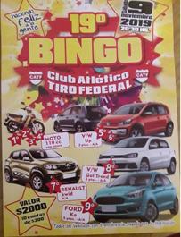 BINGO TIRO FEDERAL 2019