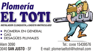 PLOMERIA EL TOTI