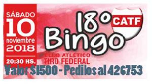 BINGO TIRO 2018